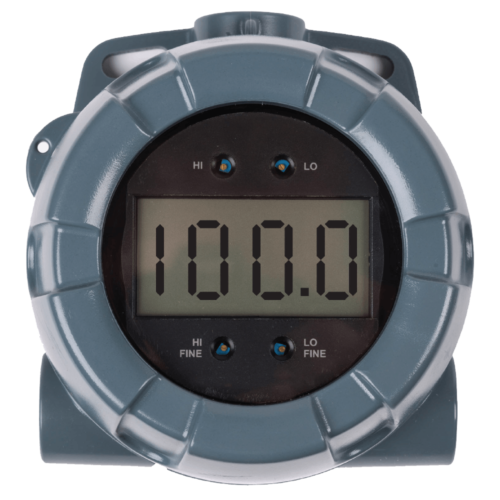 large display process meter
