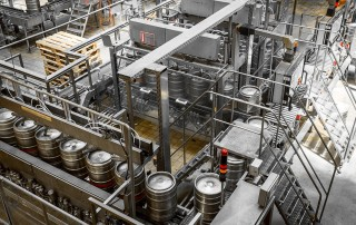 commercial brewing operation