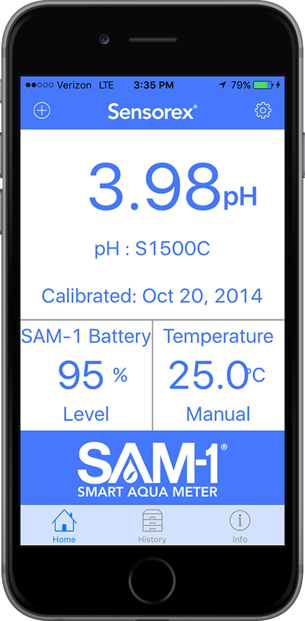 iPhone ORP meter
